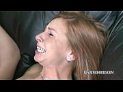 Redhead slut Scarlett Pain is getting her twat pounded
