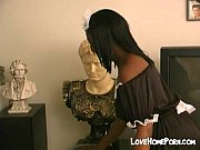 My maid gives handjob