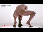Young flexible russian twins gymnast doing dildo competition - contortion4girls