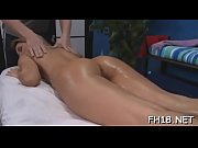 Glamorous all natural fucked by massage therapist