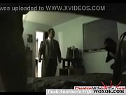 Husband caught his wife cheating