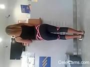 Hellenic voyeur spandex ass!!