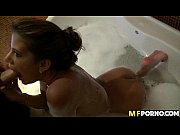 Latina takes a bath and gets some cock 2
