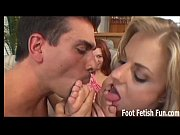 Get ready to go to feet fetish heaven