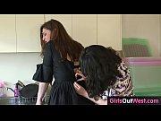 Aussie hairy lesbians enjoy cunnilingus and rimjobs
