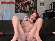 tiny ginger&#039_s pussy gets nice and.