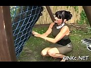female domination with babe pissing and making thrall drink