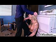 (Kleio Valentien) Big Round Tits Girl Love Intercorse In Office video-26