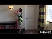 Big Tit Coed Cleo Hooks Up with XXX Legend Sara Jay!