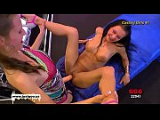 german goo girls - huge strap-on.