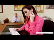 Brunette-milf-Sara-Jay-fucking-in-the-office with her boss hrid