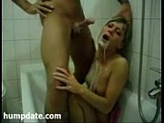 blonde girlfriend deep throats a big.