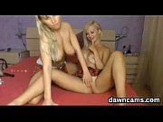 sexy blonde lesbians playing live