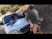 border patrol fucking girl on hood of truck.