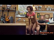 busty amateur ebony babe gets railed by pawn keeper
