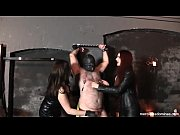 Slave James in Double Trouble - Mistress Rebekka Raynor and Mistress Storm