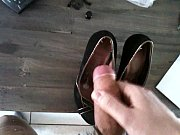 Cumming on my roommate shoes 08