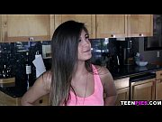 TeenPies Braced latin teen Natalie Monroe takes cum in her pussy
