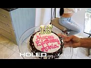 holed happy birthday anal fuck and creampie with.