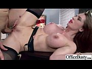 hard scene with busty slut office girl (veronica.