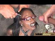 black girl sucks many white cocks in redneck.