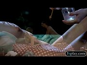 Two sultry women enjoyed body massage Thumbnail