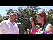 College girls tennis match turns to orgy 010