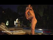 EVENING FUCK FOR HOT LITTLE TEEN NEAR THE POOL OUTDOORS. MIA BANDINI