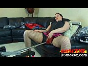 hot crazy smoking milf pounded