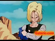 vegeta follando con 18 en dragon ball xxx.