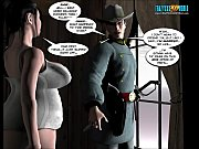 3D Comic: Six Gun Sisters. Episode 1