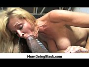 Interracial porn MILF babe gets nailed by big cock black dude 26