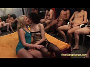 extreme hot chicks in real gangbang