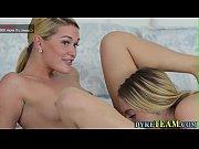 lesbian riding strapon