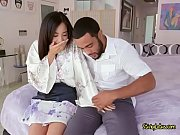 Asian Cutie Mila Jade Gropes Landlords Big Cock