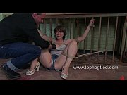 claudia gets bound with rope and.
