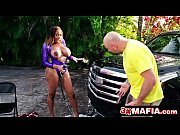 Gorgeous Ebony Goddess Moriah Mills Soapy Car Wash