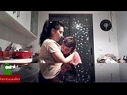 Follada entre platos limpios. video casero grabado con c&aacute_mara oculta GUI84