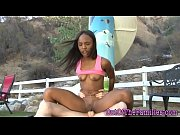 Black stepdaughter sucks