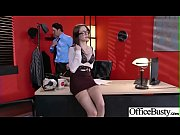 (Anna De Ville) Big Tits Sluty Girl In Hardcore Sex In Office clip-03