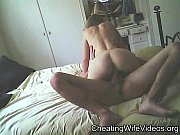 Slut cheating wife fucking and riding cock on Hidden cam