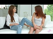 sensual lesbian scene by sapphix with evalina darling.