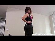 yoga pants jerk off instruction carmen.