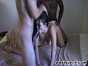 amateur girlfriend interracial group sex with.