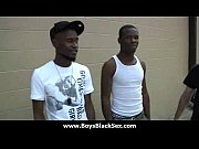 Black sexy gay boys bang white studs 01 Thumbnail