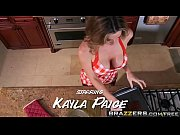 Brazzers - Mommy Got Boobs -  Film Score scene starring Kayla Paige and Rocco Reed