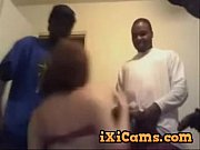 White Girl and 4 Black Guys on Cam