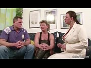 two german big tit milfs suprise his husband.