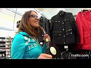 Flawless czech nympho is seduced in the mall and drilled in pov