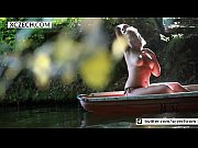 Adventure in the boat with big natural tits - XCZECH.com